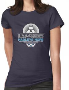 Hadleys Hope - Atmosphere Processing Plant - Aliens Womens Fitted T-Shirt