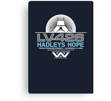 Hadleys Hope - Atmosphere Processing Plant - Aliens Canvas Print