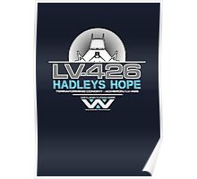 Hadleys Hope - Atmosphere Processing Plant - Aliens Poster