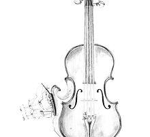 Stradivarius At Sea by Jace Hagar