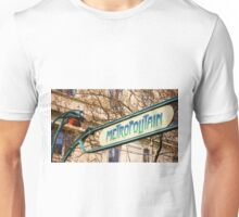 Paris Metro Sign Color Unisex T-Shirt