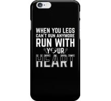 TENNIS-RUN WITH YOUR HEART iPhone Case/Skin