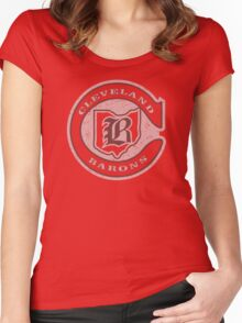 Cleveland Barons Women's Fitted Scoop T-Shirt