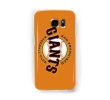 SAN FRANCISCO GIANTS BASEBALL Samsung Galaxy Case/Skin
