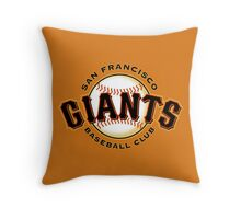 SAN FRANCISCO GIANTS BASEBALL Throw Pillow