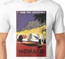 """MONACO GRAND PRIX"" Auto Race Print Unisex T-Shirt"