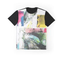 Collaged Fragments Graphic T-Shirt