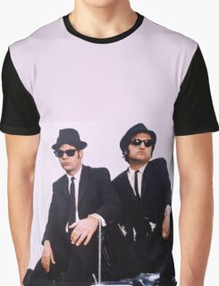 Jake & Elwood Blues - The Blues Brothers Graphic T-Shirt