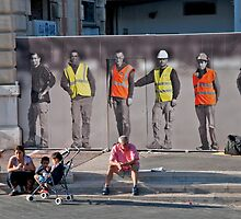Workers And Watchers by phil decocco