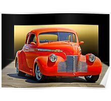 1941 Chevrolet Master Deluxe Coupe 'Studio Y' Poster