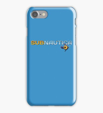 Subnautica Logo iPhone Case/Skin