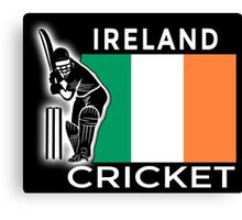Ireland Cricket Canvas Print