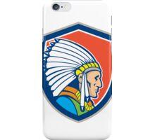 Native American Indian Chief Cartoon iPhone Case/Skin