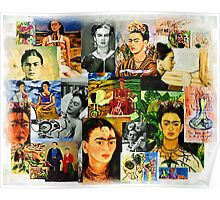 Obsessed with Frida Kahlo Poster