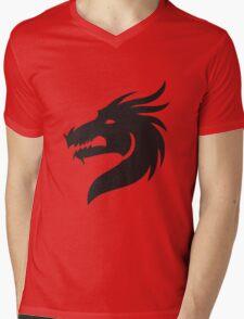 T-shirt Dragon Mens V-Neck T-Shirt