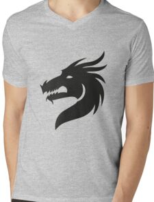 T-shirt Dragon Mens V-Neck T-Shirt