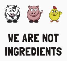 WeAre Not Ingredients Baby Tee