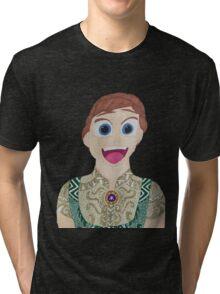 surprised Anna  Tri-blend T-Shirt