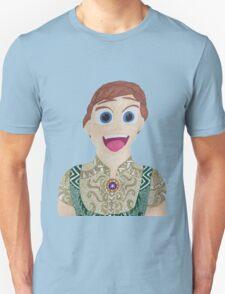 surprised Anna  Unisex T-Shirt