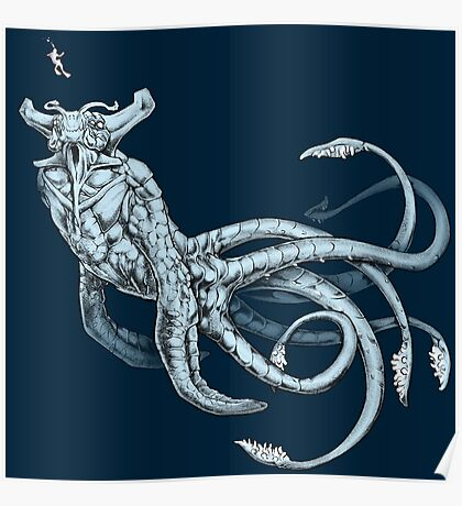 Sea Emperor Transparent Poster