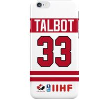 Cam Talbot iPhone Case/Skin
