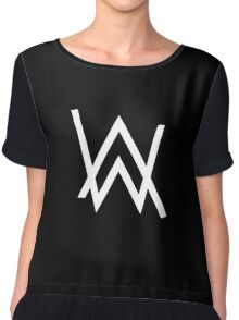 Alan Walker Chiffon Top