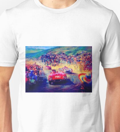 """VINTAGE GRAND PRIX AUTO"" Racing Print Unisex T-Shirt"