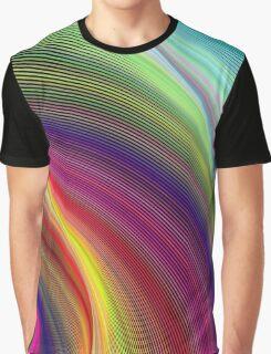 Vortex of Colors Graphic T-Shirt