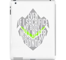 Genji quote iPad Case/Skin