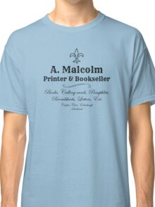 Outlander/A. Malcolm/Jamie Fraser Classic T-Shirt