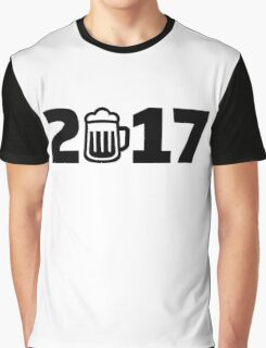 2017 beer Graphic T-Shirt