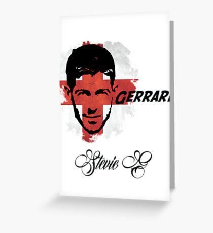 Steven Gerrard England World Cup 2014 Greeting Card