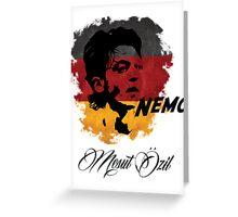 Germany Mesut Ozil Football World Cup 2014 Greeting Card