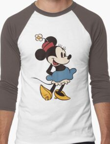 Minnie Retro Men's Baseball ¾ T-Shirt