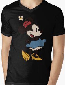 Minnie Retro Mens V-Neck T-Shirt