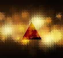 Retro Triangle brown by mspdesign