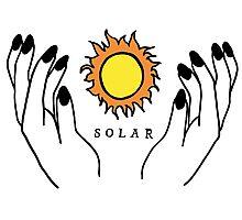 Solar Hands Photographic Print