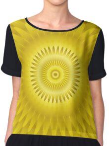 Ray of Sunshine Chiffon Top