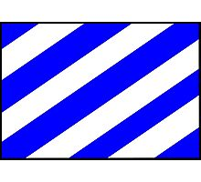 Number 6 Flag Photographic Print