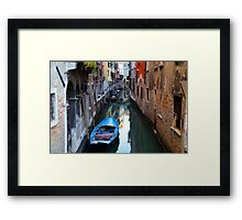 All About Italy. Venice 17 Framed Print