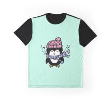 MUSIC PENGUIN Graphic T-Shirt