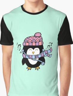 MUSIC PENGUIN Graphic T-Shirt