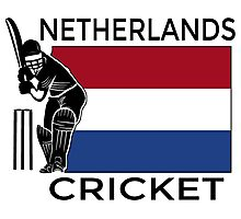 Netherlands Cricket Photographic Print