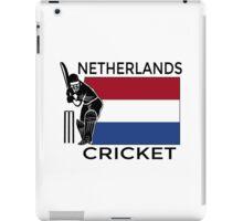 Netherlands Cricket iPad Case/Skin