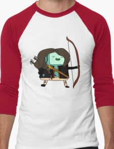 BMO Katniss  Men's Baseball ¾ T-Shirt