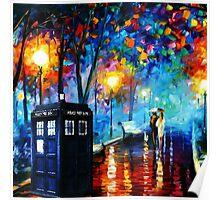 Tardis Romantic Night Poster