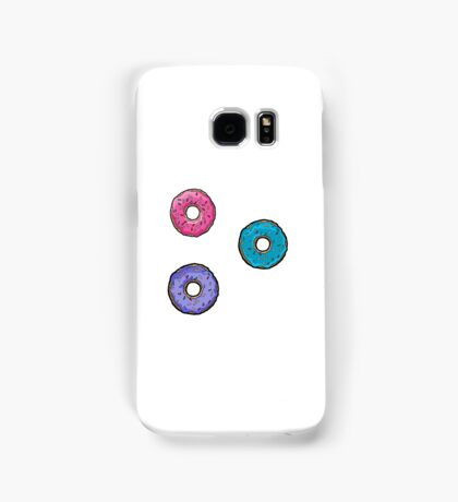 The Simpsons donut stickers Samsung Galaxy Case/Skin