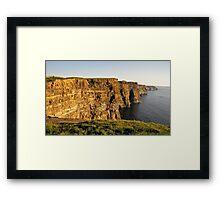 The Cliffs Framed Print