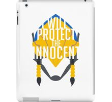 Pharah quote iPad Case/Skin