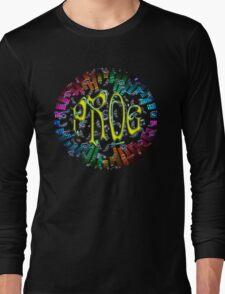 PROG RAINBOW KEYS Long Sleeve T-Shirt